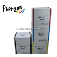 Color Toner Cartridge NPG-35/GPR-23 Compatible with Canon