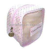Cotton Cosmetic Bags (KM-COB0022), Make up Bags, Toiletry Bags, Promotion Gift Bags