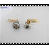 Elbow Connectors 90 Degree R/A Receptacle ECG.2B for PCB