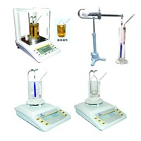 FA/JA-J laboratory analytical LCD screen Electronic densitometer / specific gravity analytic balance