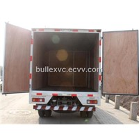 FRP plywood cargo body