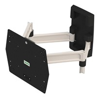 """Full motion tv wall mount for 23""""-42"""" flat screen"""