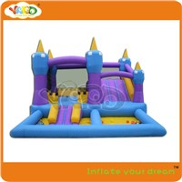 High quality slide jumping castle