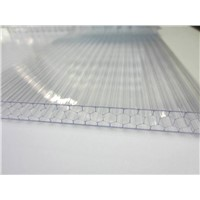 Honeycomb Polycarbonate Sheet for Roofing Soundbarrier-Sidewall Greenhouse