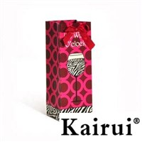 Impressionistic Wine Bottle Bags KR048-1