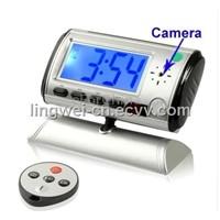 Mini Spy Clock Security Hidden DV Camera Motion Detector,1.8 inch LCD Screen Clock Camera (LW-DV11A)
