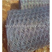 PVC & Galvanized Hexagonal Wire Mesh
