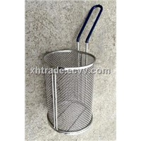 Pasta Basket ,Round Stainless Steel Basket Strainer