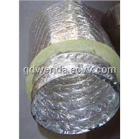 Pre-insulated aluminum flexible duct