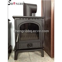 Shengri multi-fuel high efficiency cast iron stove