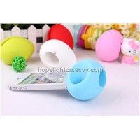 Silicone Egg Horn Stand for Iphone4/4s
