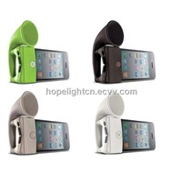 Silicone Horn Stand for iPhone 4/4s iPhone5