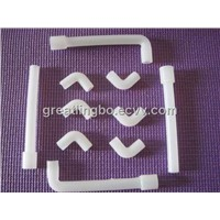 Silicone rubber tube or hose