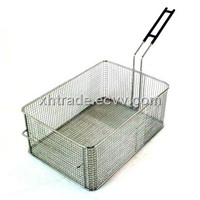 Stainless Steel Mesh Fry Basket,Russian Style Fry Basket