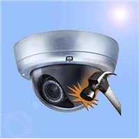 Vandal Proof Infrared Dome Camera with Automatic Gain Control