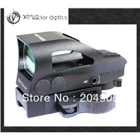 Vector Optics Tactical 1x23x34 Red Green Dot Scope 4 Reticle Sight with QD 20mm Mount Base