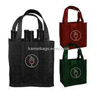 Wine Bags(KM-WNB0050), Non-Woven Bags, Gift Bags, Promotion Packing Bags