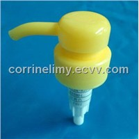 cosmetic package plastic lotion pump
