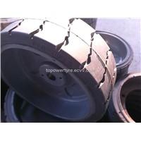 Genie 105454  solid wheel/tyre 15x5