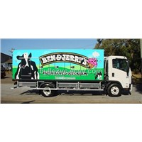 refrigerated  truck for milk and ic cream