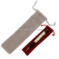 Velvet Pen Pouch(Km-Veb0077), Velvet Bag/Pouch, Gift Packing Pouch, Promotion Bags, Drawstring Bags