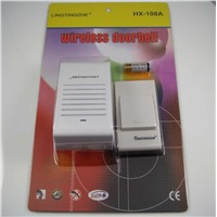 wireless remote  doorbell, wireless control doorbell