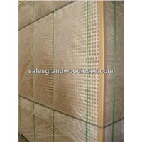 hollow core particle board