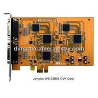4/8/16ch PCI/PCI-E H264 CIF Support iPhone, iPad, Android phoneDigital video recorder card