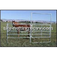 6bar Rail Horse Pens Round Pens for Horse Horse Stall, Horse Stable, Cattle Yard, Corrol Panel