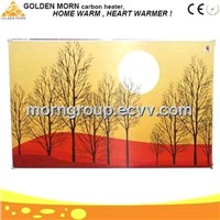 Far Infrared Radiant Heating Panels Electric Wall Pictured Panel Heater