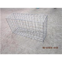 High Quality Zinc 5% Aluminum Alloy PVC Welded Gabion Mattress/welded stone walls box