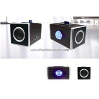SD/MMC/Micro SD Card Mini USB Speaker