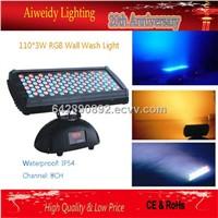 350W 110*3W LED Waterproof/Outdoor Long Wall Wash Light