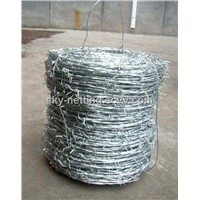 Barbed Wire Tape ISO Factory 1.5mm Diameter PVC Coating 25kg/Coil
