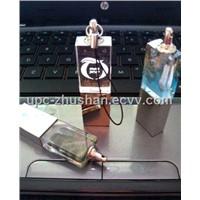 Hot Laser Printing Crystal USB Flash Memory Drive