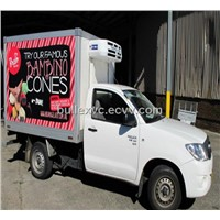 FRP Sandwich PU Panel Reefer truck box
