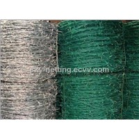Galvanized/Pvc Coated Barbed Wire (Anping Factory)