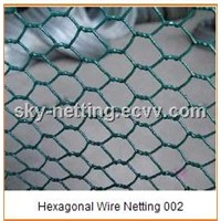 Hexagonal Wire Netting Hot Sell Wire Dia 0.9mm PVC-coated