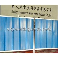 Panel Size 2000x2160mm Corrugated Sheet Hoarding