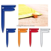 Promotional Plastic Beach Towel Clip