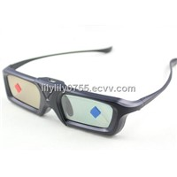 Rechargeable DLP link glasses for 3D ready projector