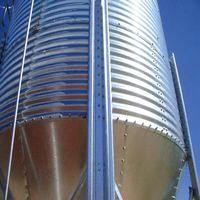 Steel silo equipment