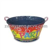 Tin Bucket , Metal Ice Bucket,  Handle Ice Bucket made tinplate from Marshallom