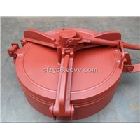 cement truck manhole cover,water truck manhole cover,suction truck manhole cover