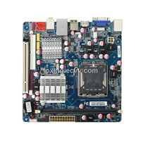 cheap Intel G41 Based socket lga775 Mini-ITX Motherboard with VGA/PCI/DDR3 slot