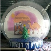 Clear Exhibition Inflatabe Snow Globe