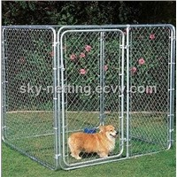 Hot-Dipped Chain Link Dog Run Kennel (Direct Factory )