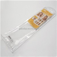 Transparent Plastic Packaging Bag for Hair Extension
