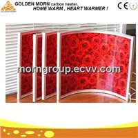Drawing Infrared Electric Wall Mounted Heater Panel GMS100-60
