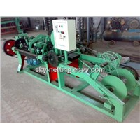 Full-Automatic Double Twisted Barbed Wire Making Machine